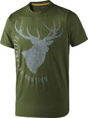 Woodlands, Seeland, t-shirt fading stag